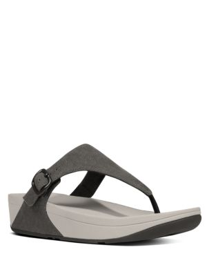 The Skinny Canvas Toe-Thong Sandals by FitFlop