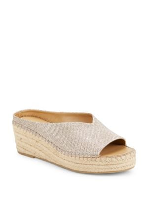 Pine Espadrille Slide Sandals by Franco Sarto