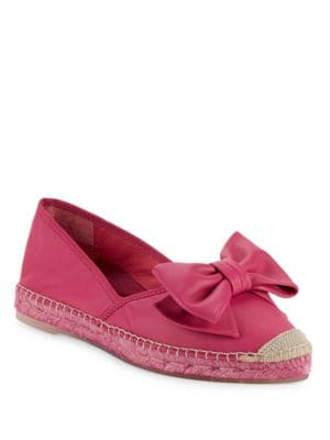 Shelia Leather Espadrille Flats by Vidorreta