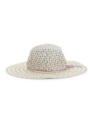 Knit Straw Hat