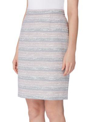 Textured Pencil Skirt...