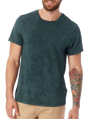 Organic Pima Cotton Perfect Crewneck Tee by ALTERNATIVE