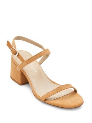 Stella Suede Block Heel Sandals by Matisse