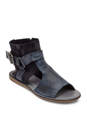 Warner Leather Harnessed Sandals by Matisse