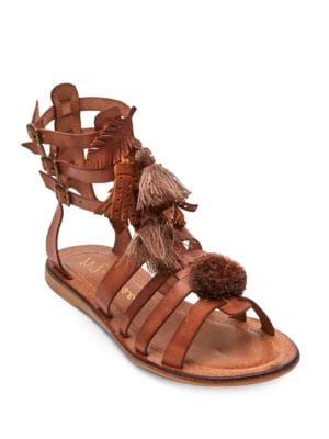 Buy Warrior Leather Gladiator Sandals by Matisse online