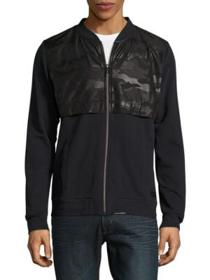 Frame Zip-Front Cotton Jacket by strellson