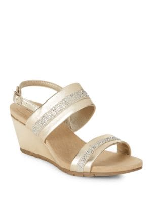 Greedson Wedge Sandals by Bandolino