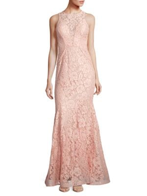 Lace A-Line Gown by City Chic