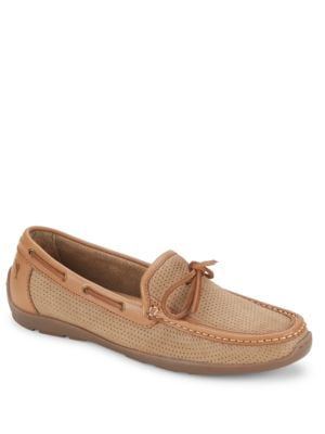 Odinn Leather Loafers by Tommy Bahama