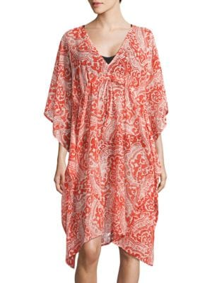 V-Neck Kimono Cover-Up by Echo
