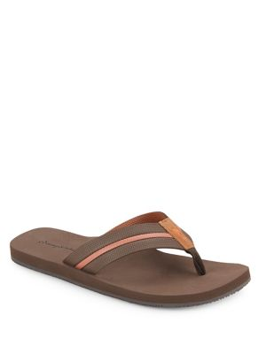 Leather Thong Flip Flops by Tommy Bahama