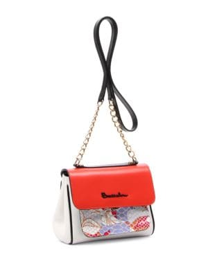 Chiara Tonal Leather Shoulder Bag 500086895511