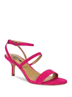 Marcus Kid Suede Strappy Dress Sandals by Tahari