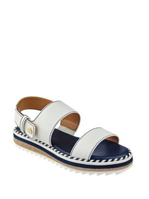 Buy Madie Buckle Platform Sandals by Tommy Hilfiger online