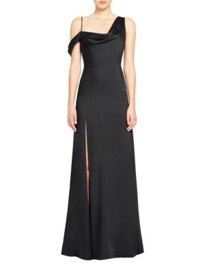 Matte Charmeuse Gown by Jill Jill Stuart