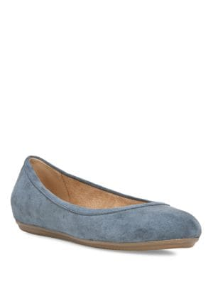 Brittany Suede Ballet Flats by Naturalizer