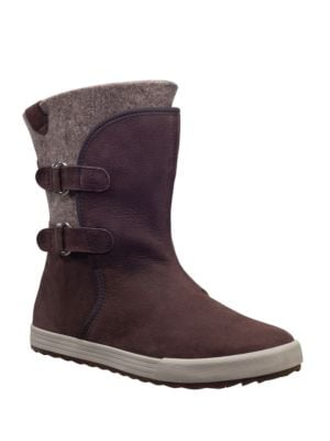 Marian Tumbled Leather Winter Boots by Helly Hansen