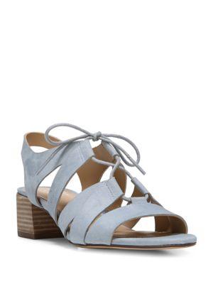 Felicity Suede Block Heel Sandals by Naturalizer