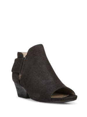 Gemi Leather Open Toe Shooties by Naturalizer
