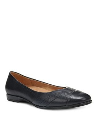 Jaye Leather Dress Flats by Naturalizer