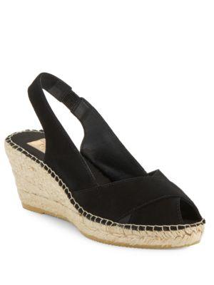 Sandra Crisscross Espadrille Wedge Sandals by Vidorreta