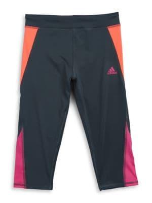 Colorblock Capri Pants