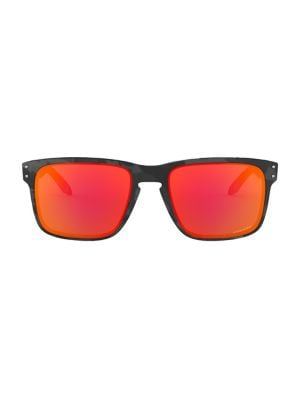 55mm Polarized Square Sunglasses by Oakley