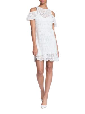 Kendra Cold-Shoulder Lace Dress by Plenty by Tracy Reese