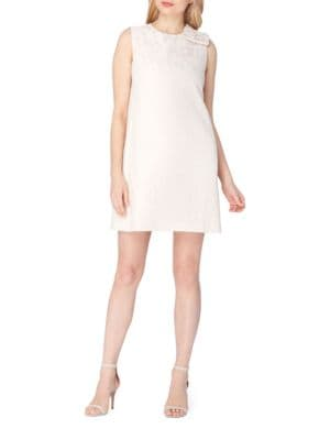 Lace Bow Trapeze Dress by Tahari Arthur S. Levine