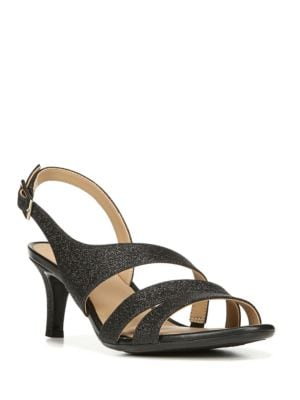 Taimi Glitter Slingback Sandals by Naturalizer