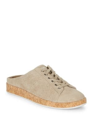 Rissa Suede Slip On Sneakers by Marc Fisher LTD