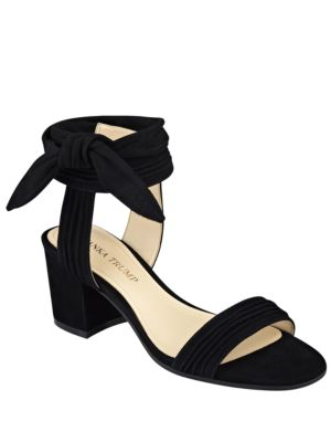 Edline Suede Sandals by Ivanka Trump