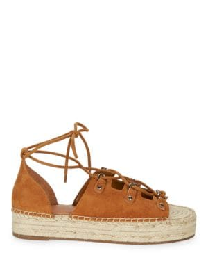 Vally Espadrille Lace-Up Sandals by Marc Fisher LTD