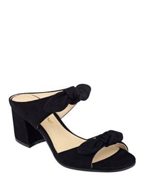 Buy Eria Suede Sandals by Ivanka Trump online