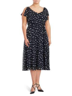 Floral Midi Dress by Gabby Skye