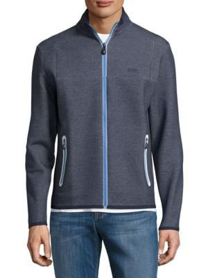 Athletic Zip Front Jacket by HUGO BOSS