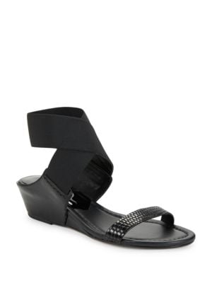 Eeva Wedge Sandals by Donald J Pliner
