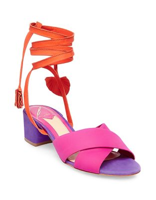 Astor Nubuck Leather Sandals by B Brian Atwood