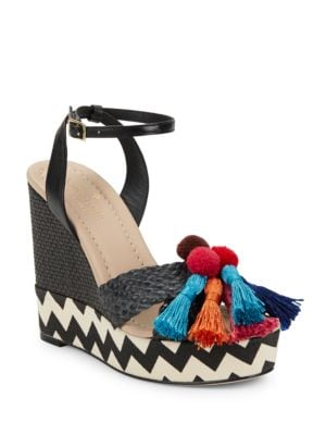 Delancey Woven Platform Sandals by Kate Spade New York