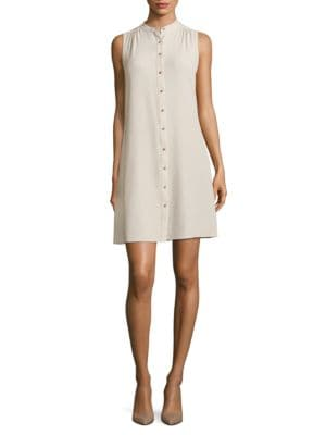 Sleeveless Shirtdress by Calvin Klein
