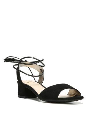 d388520ad85 CIRCUS BY SAM EDELMAN. Isabel Microsuede Block Heel Sandals ...