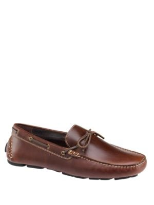 Gibson Moc-Toe Leather Driver Shoes by Johnston & Murphy