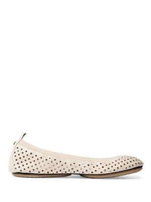 Samara Foldable Leather Flats by Yosi Samra