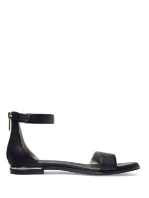 Cambelle Two-Piece Leather Sandals by Yosi Samra