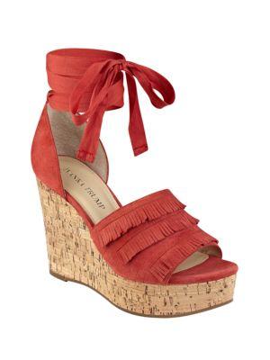 Zabre Platform Wedge Sandals by Ivanka Trump