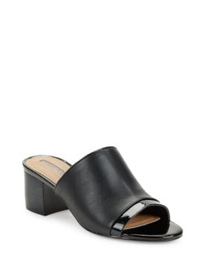 Daisie Leather Mules by Tahari
