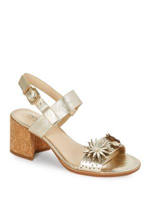 Franchesca Block Heel Sandals by IMNYC Isaac Mizrahi