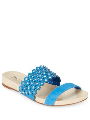 Suzie Embellished Sandals by IMNYC Isaac Mizrahi