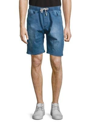 Drawstring Jogger Shorts...