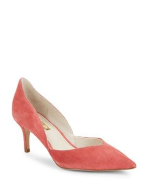 Jacee Slip-On Leather Pumps by Louise et Cie